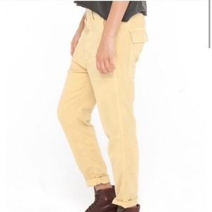 The Great. Yellow Slouch Armies Pants